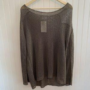 Soft Surroundings Crochet Sheer Tunic Top Size 1X
